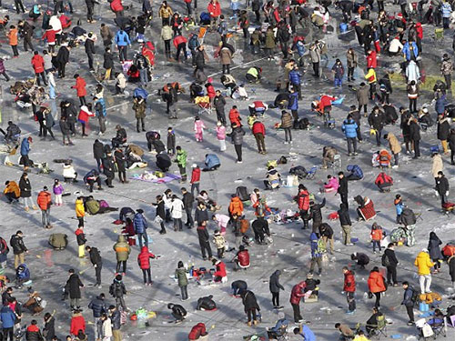 Các nhà tổ chức cuộc thi kỳ vọng số người tham gia cuộc thi năm nay sẽ thu hút hơn 1 triệu người.  Ảnh: Reuters