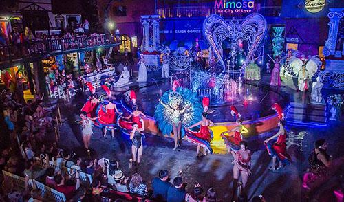 Khám phá Mimosa – thành phố của sắc màu