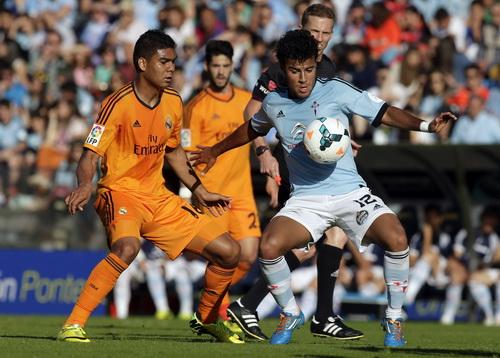 Real Madrid gục ngã trước Celta Vigo
