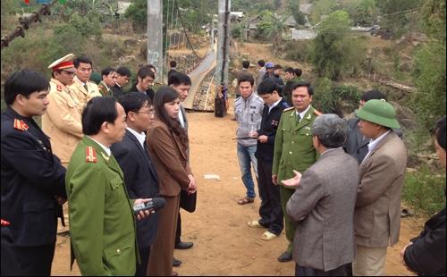 Lãnh đạo tỉnh Lai Châu chỉ đạo khắc phục hậu quả tại hiện trường