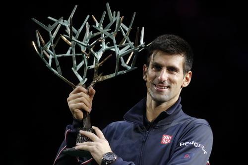Djokovic không cam chịu thất bại sau 3 chức vô địch liên tiếp tại Paris Masters
