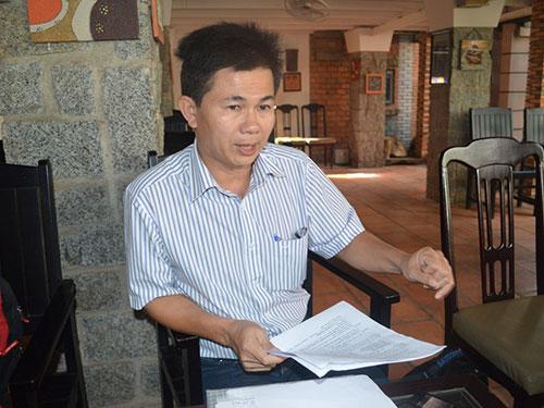 Ông Trần Minh Lợi thu thập nhiều bằng chứng chứng minh sai phạm của ông Quang