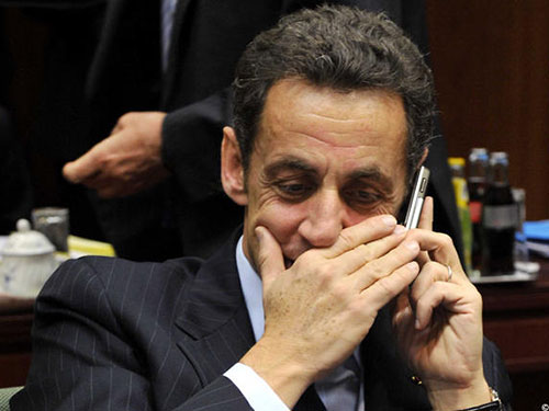 Điện thoại của cựu Tổng thống Sarkozy bị nghe lén từ đầu năm 2013Ảnh: SIPA