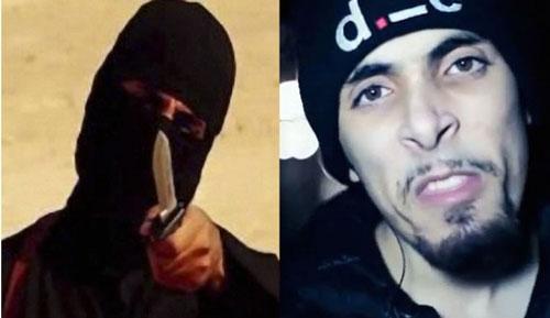 Đao phủ Jihadi John (trái) và ca sĩ nhạc rap nghiệp dư Abdel Bary Ảnh: Inquisitr