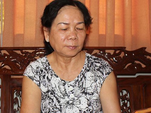 Bà Chính Nghĩa hiện sống tại quận Gò Vấp, TP HCM Ảnh: PHAN ANH