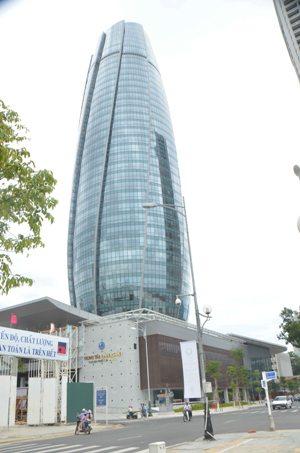 Tòa nhà Trung tâm Hành chính TP Đà Nẵng vừa mới được khánh thành vào ngày 8-9