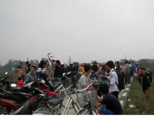Xem chết đuối ở Hà Tĩnh