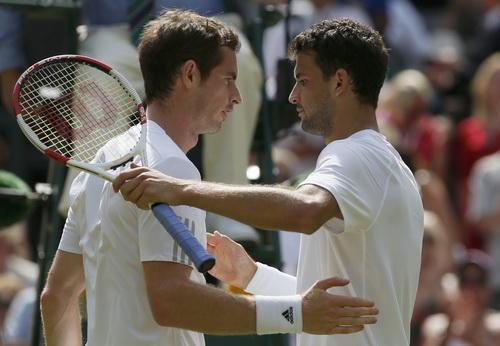 Dimitrov bỏ lỡ cơ hội đánh bại Murray