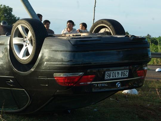 Công an Hà Nội khẳng định BKS 29A 410.86 trên chiếc ô tô BMW 750 gây tai nạn thảm khốc là BKS giả