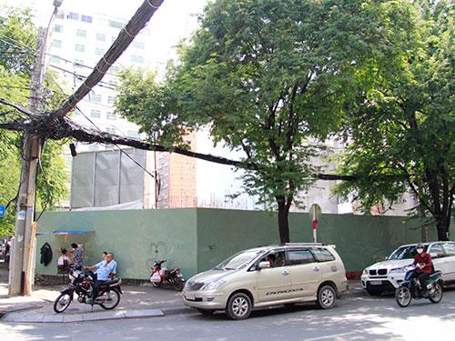 Một dự án trên đường Thi Sách (quận 1, TP HCM) đang được rao bán