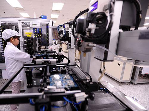 Nhà máy Sản xuất điện thoại của Samsung tại tỉnh Bắc Ninh
