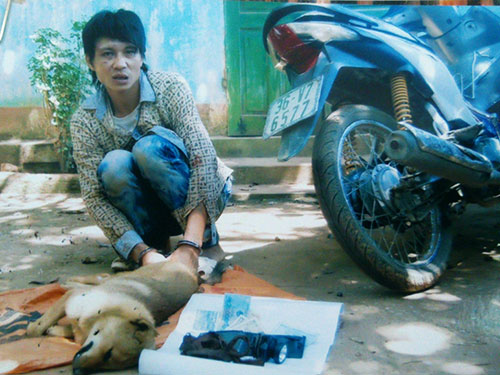 Nguyễn Văn Ngân, 1 trong 2 nạn nhân bị đánh chết tại thôn Bằng Phú, từng bị phạt hành chính về hành vi bắt trộm chó. (Ảnh do Công an tỉnh Thanh Hóa cung cấp)