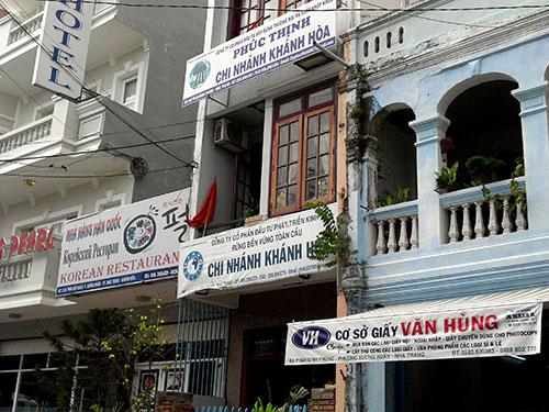 Đại bản doanh của Công ty CP Tập đoàn Rừng Toàn Cầu ở TP Nha Trang