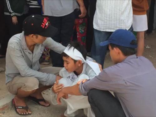Con trai của ông Nguyễn Đình Tấn Sỹ đau buồn trước cái chết của cha