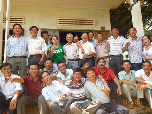 Cựu binh đồng hương Xuân Lộc gặp nhau tại Đồng Nai sau 30 năm sang chiến trường K