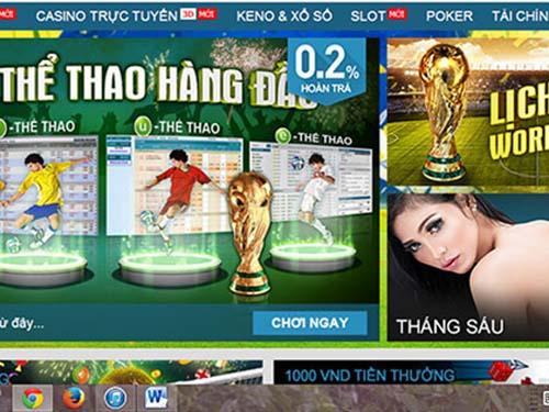 Hàng loạt trang cá độ bóng đá World Cup 2014 phục vụ giới mê đỏ đen ở Việt Nam