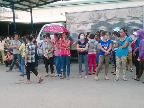 Công nhân ngừng việc tập thể khiến Công ty TNHH Alta Mode Việt Nam phải đóng cửa sớm hơn dự định