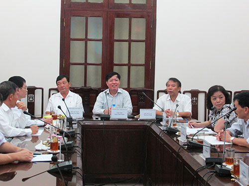 Cuộc họp Hội đồng Tiền lương quốc gia sáng 6-8 đã diễn ra khá căng thẳng