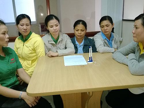 Công nhân đến Báo Người Lao Động nhờ can thiệp, bảo vệ quyền lợi