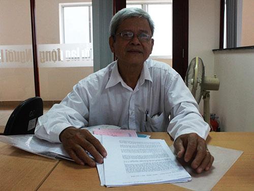 Ông Phạm Văn Thanh Việt bức xúc về việc đóng tiền BHXH cao nhưng lương hưu thấp