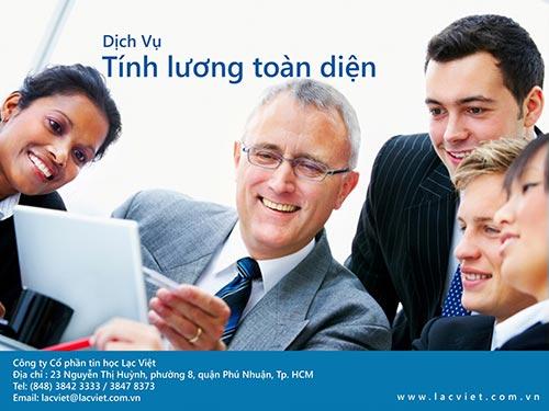 Sử dụng dịch vụ tính lương của Lạc Việt, doanh nghiệp tiết kiệm chi phí và thời gian
