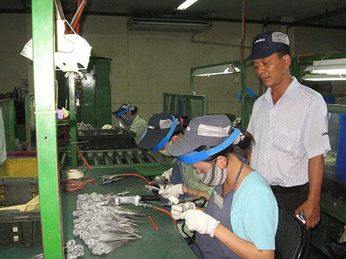 Ông Nguyễn Phước Đại, Chủ tịch Công đoàn Công ty Juki (KCX Tân Thuận), được đánh giá là cán bộ Công đoàn có tinh thần dấn thân, dám nghĩ, dám làm