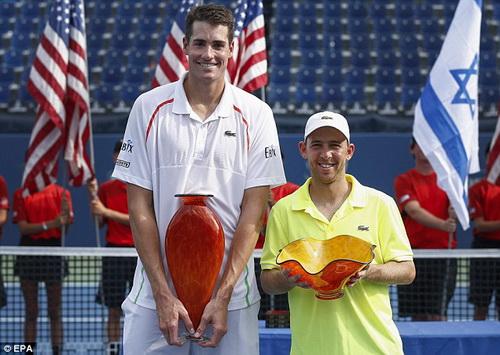 Vô địch Atlanta Open, Isner tự tin hướng tới giải City Open với vị trí hạt giống số 5