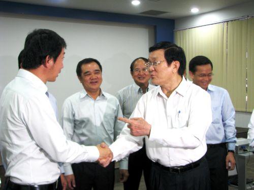 Chủ tịch nước động viên các doanh nghiệp nước ngoài an tâm sản xuất