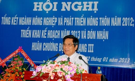 Ông Phạm Hoàng Bê. Ảnh: Sở Nông nghiệp và Phát triển Nông thôn tỉnh Bạc Liêu