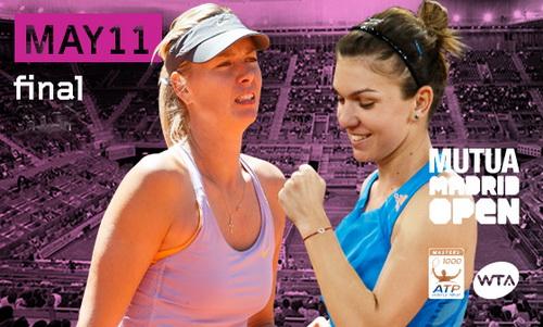 Ápphích giới thiệu trận chung kết nữ Madrid Open