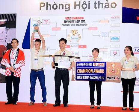 Đội Công ty Khai Thác (Bình Dương) đoạt chức vô địch