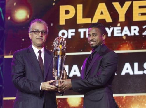 Al Shamrani nhận giải thưởng danh giá