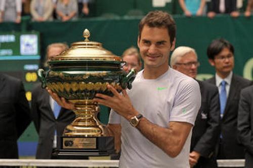 Danh hiệu vô địch thứ 7 của Federer