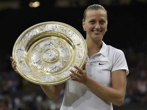 Petra Kvitova trở lại Top 4