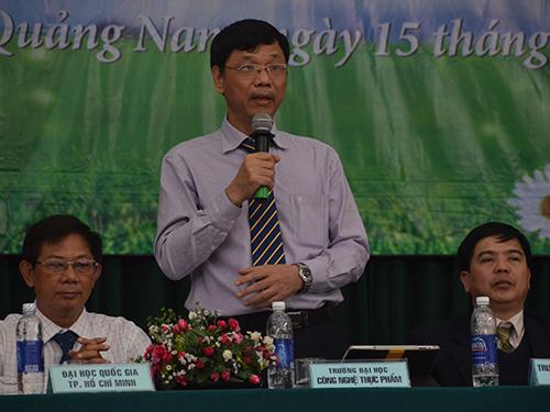 PGS-TS Đặng Vũ Ngoạn, Hiệu trưởng Trường ĐH Công nghiệp Thực phẩm TP HCM