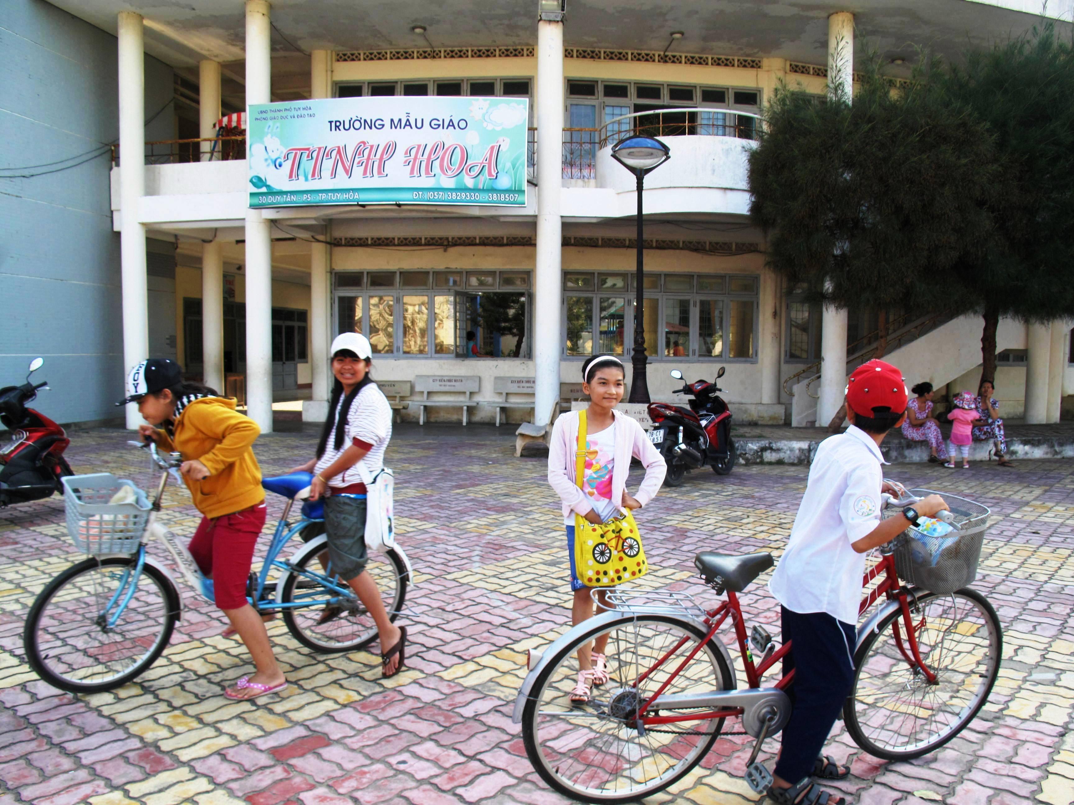 Trường mầm non Tinh Hoa, nơi xảy ra việc cô giáo Trang đánh bé mầm non