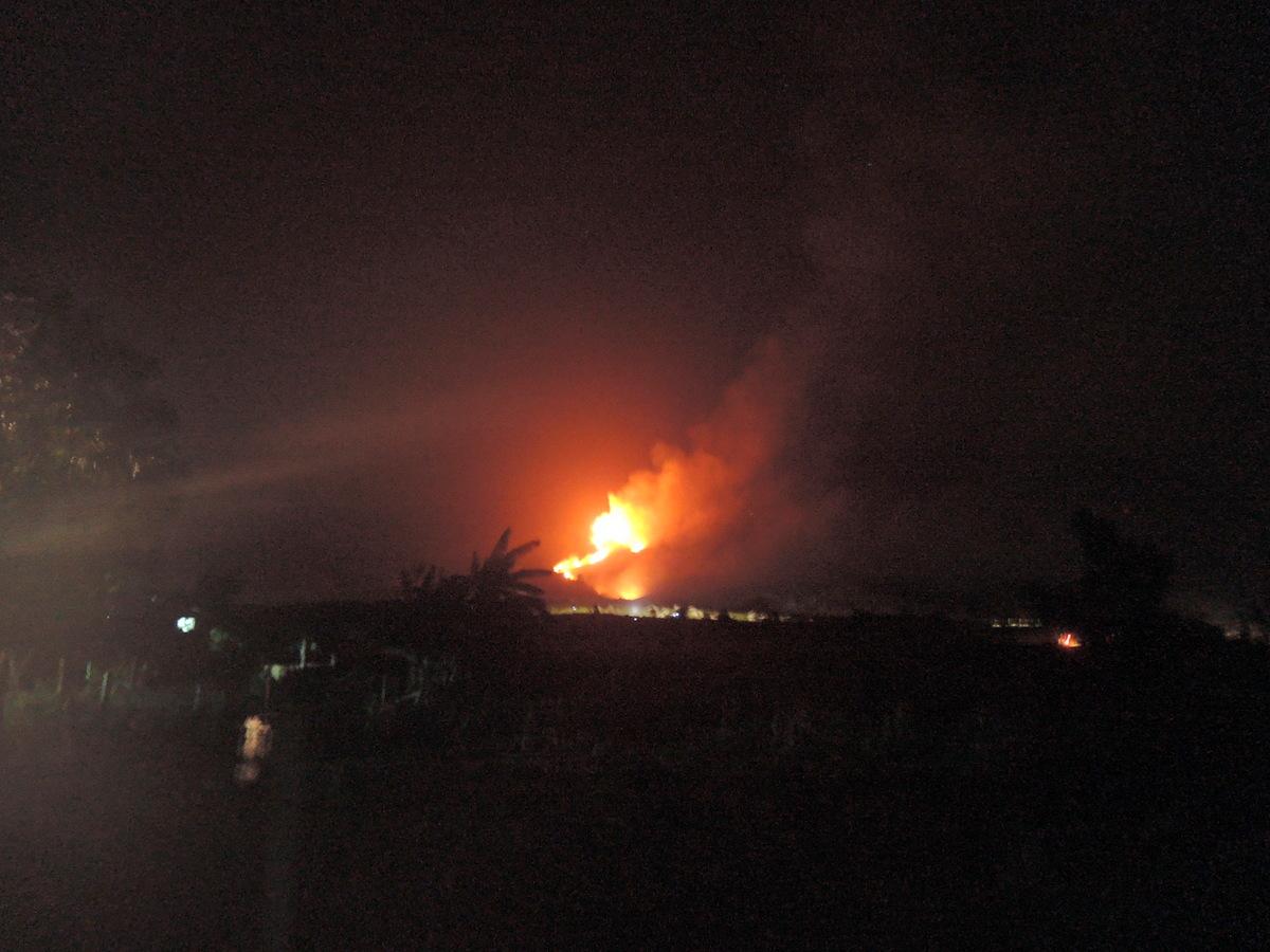 Vụ cháy thiêu rụi cả trăm ha rừng đặc dụng Bà Nà- Núi Chúa, trong 2 ngày 21 và 22-6