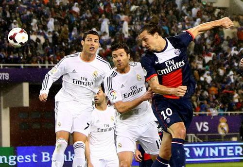 Đại chiến giữa hai ngôi sao Ronaldo và Ibrahimovic