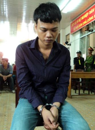 Danh Chơn tại phiên tòa xử lưu động ngày 8-5