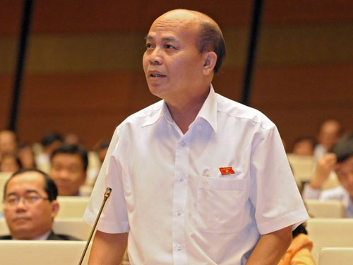 ĐB Đỗ Văn Đương: Chu Văn An dâng sớ chém quan nịnh thần, chính là những quan làm chính sách không có lợi cho quốc gia, dân tộc.