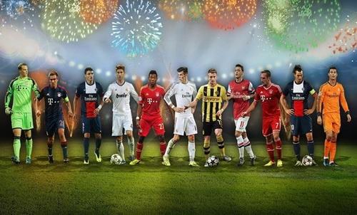 Đội hình tiêu biểu bóng đá thế giới năm 2013