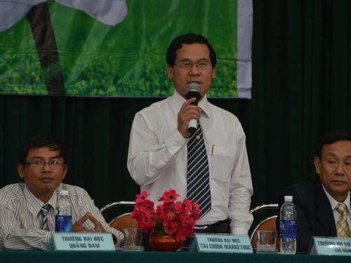ThS Phạm Thế Vinh, Trưởng Phòng Khảo thí và Quản lý chất lượng Trường ĐH Tài chính Marketing