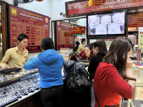 Giao dịch vàng tại Bảo Tín Minh Châu