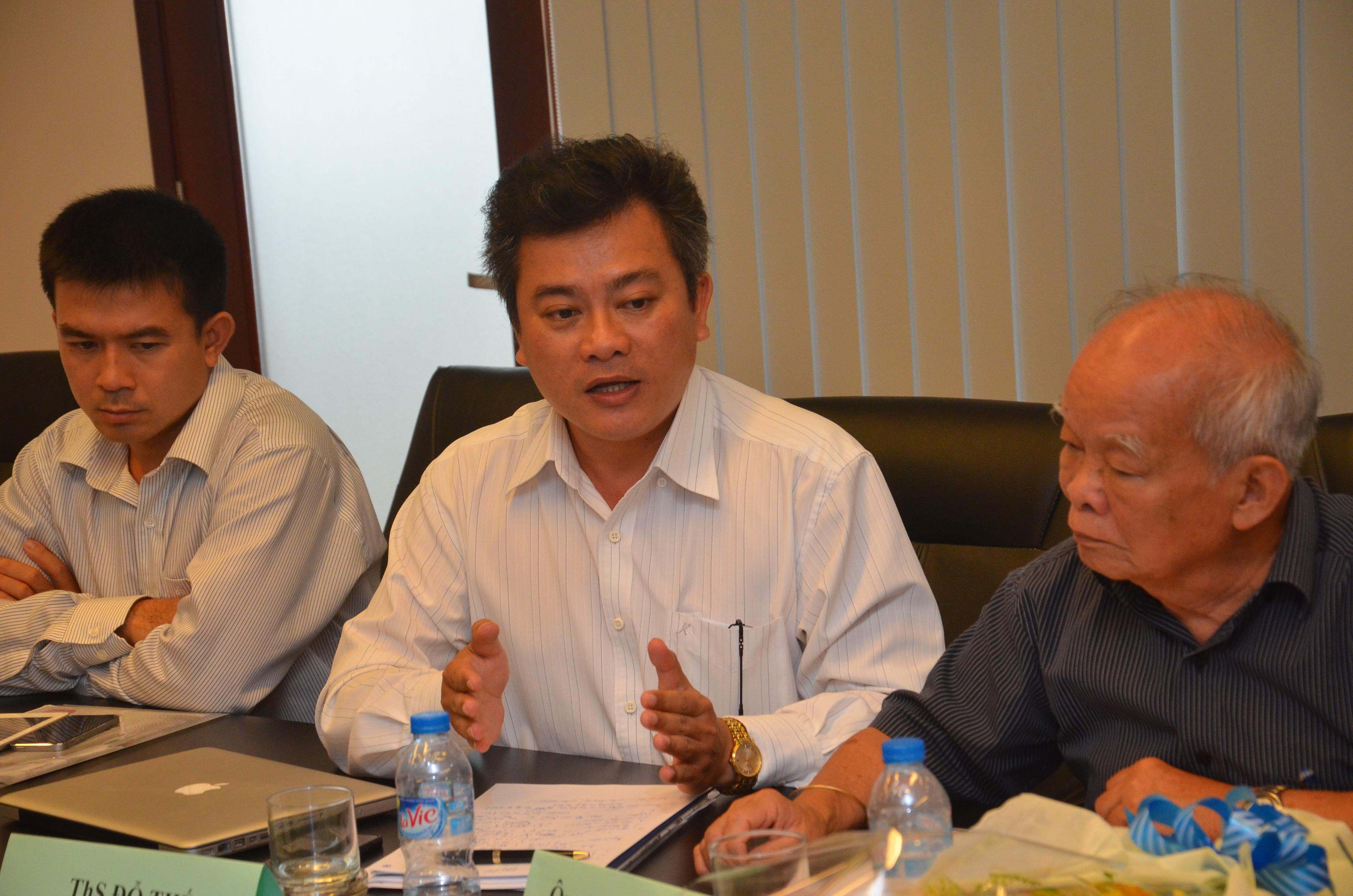 Ths Đỗ Thế - Phó Hiệu trưởng Trường ĐH Phan Châu Trinh