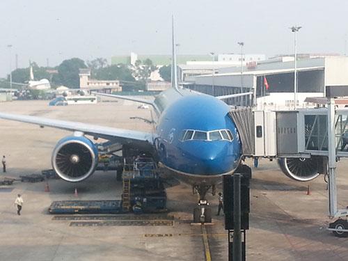 VNA đang hoàn tất chương trình nâng cấp dịch vụ thành hãng hàng không 4 sao  để cạnh tranh hiệu quả hơn Ảnh: MINH NGỌC