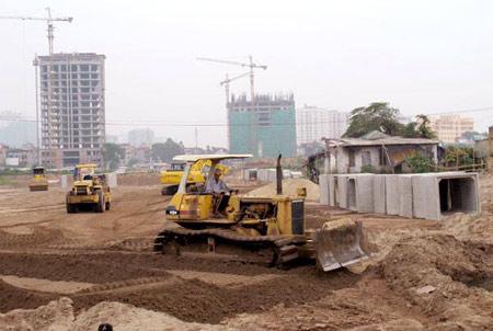 Một trong những dự án trên địa bàn phương Dương Nội (quận Hà Đông, Hà Nội). Ảnh: Báo Điện tử ĐCSVN