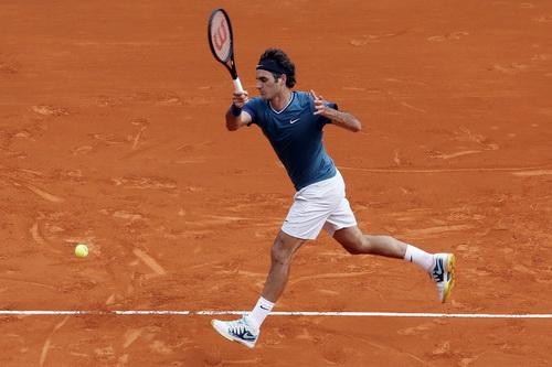 Federer đã không thể giành chiến thắng trước Jeremy Chardy