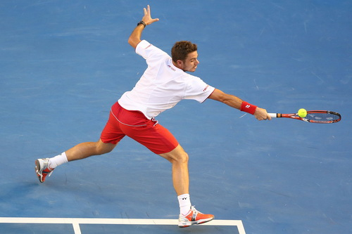 Lối đánh chặt chẽ, hiệu quả của Wawrinka gây khó cho Nadal