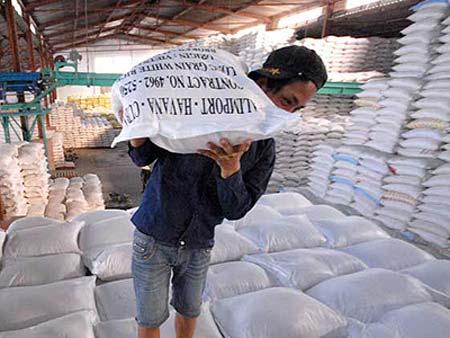 Gạo Việt Nam xuất khẩu nhiều nhưng đạt giá trị thấp vì giá bán không cao Ảnh: NGỌC TRINH