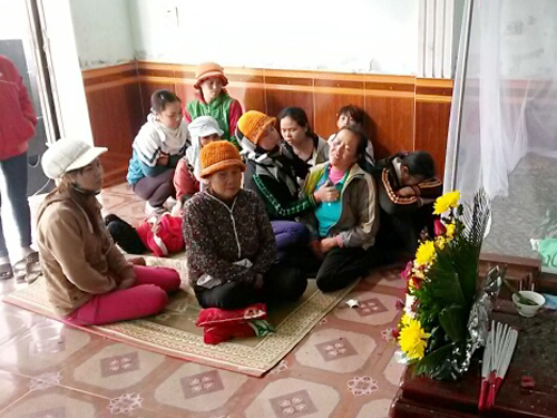 Gia đình 1 nạn nhân vụ đắm thuyền đau đớn trước cái chết đột ngột của người thân